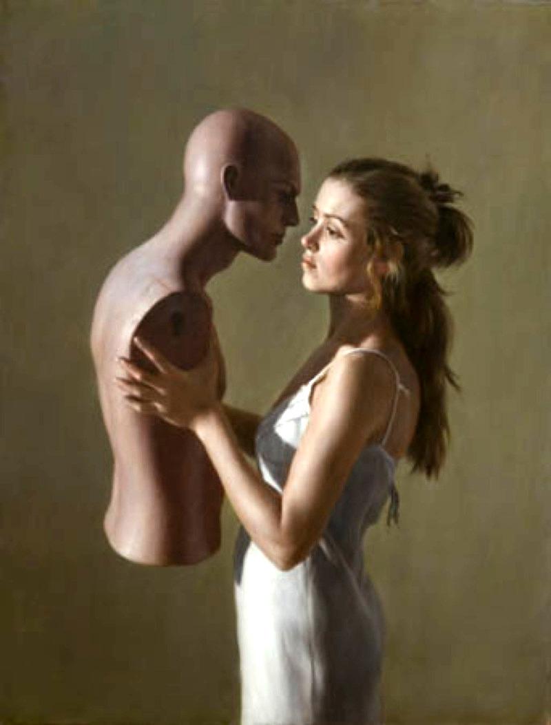 Эротические фото с манекеном 25 фотография